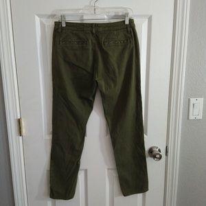 Adriano Goldschmidt green skinny pants size 27